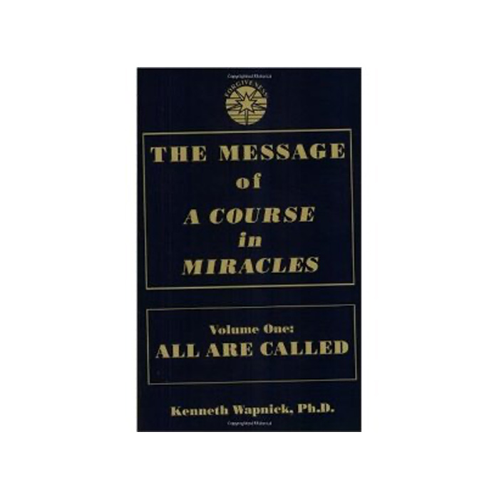 Message of 'A Course in Miracles'