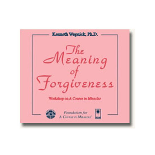 Meaning of Forgiveness